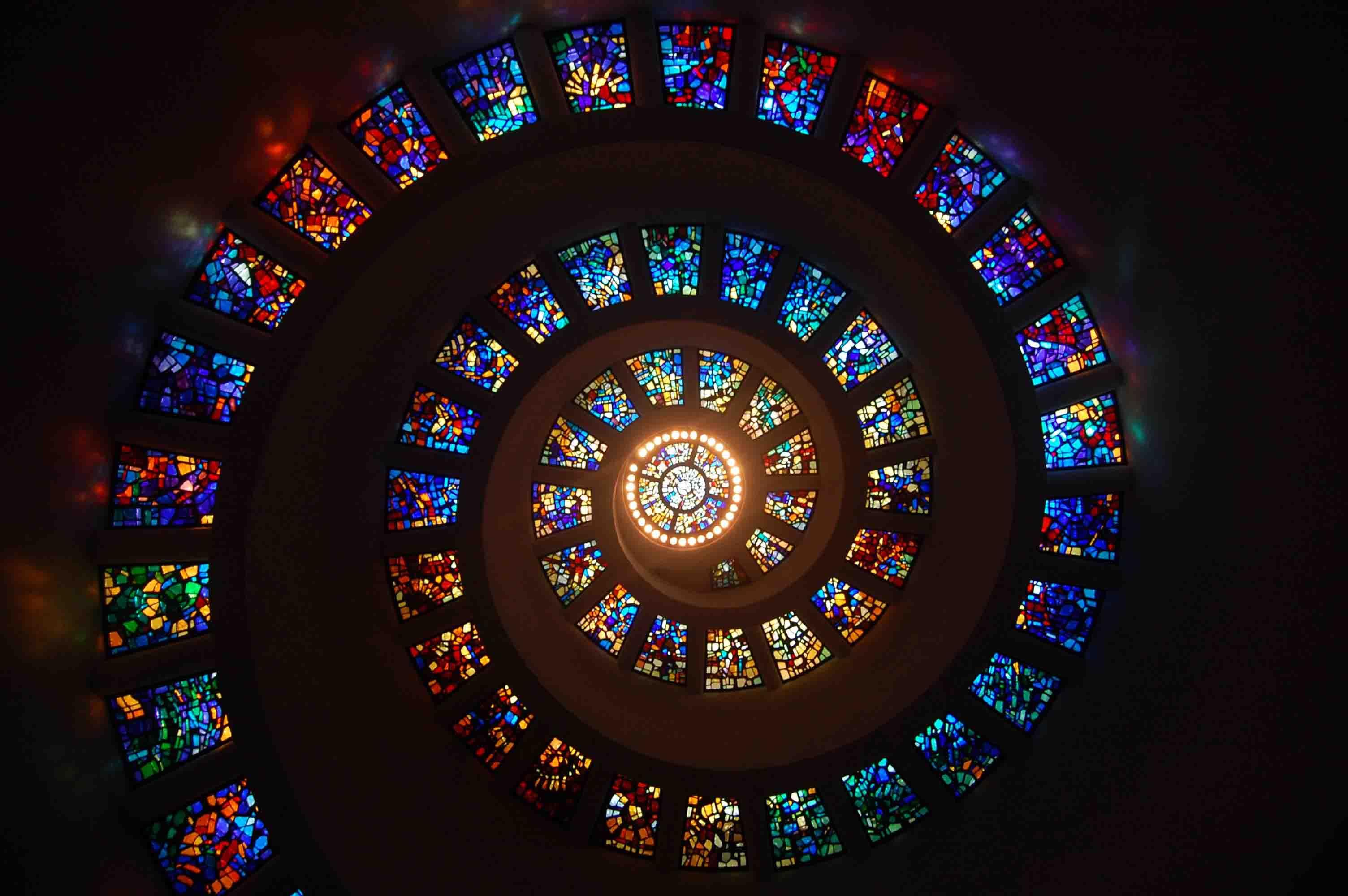 spiral escalier